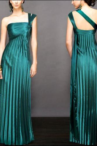A-line Sweetheart Neck Prom Dresses Floor Length Bridesmaid Dresses ASD2582