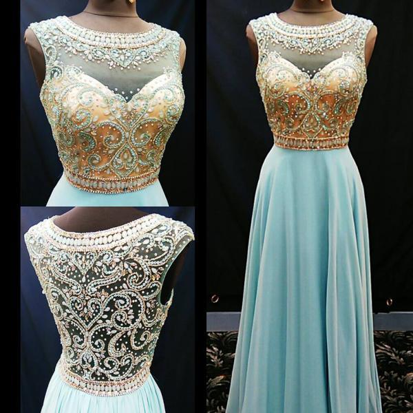 Long Sleeve White Lace Bodice Chiffon Skirt Elegant Simple: Silver Sequins Lace Prom Dresses Sheath White Chiffon With